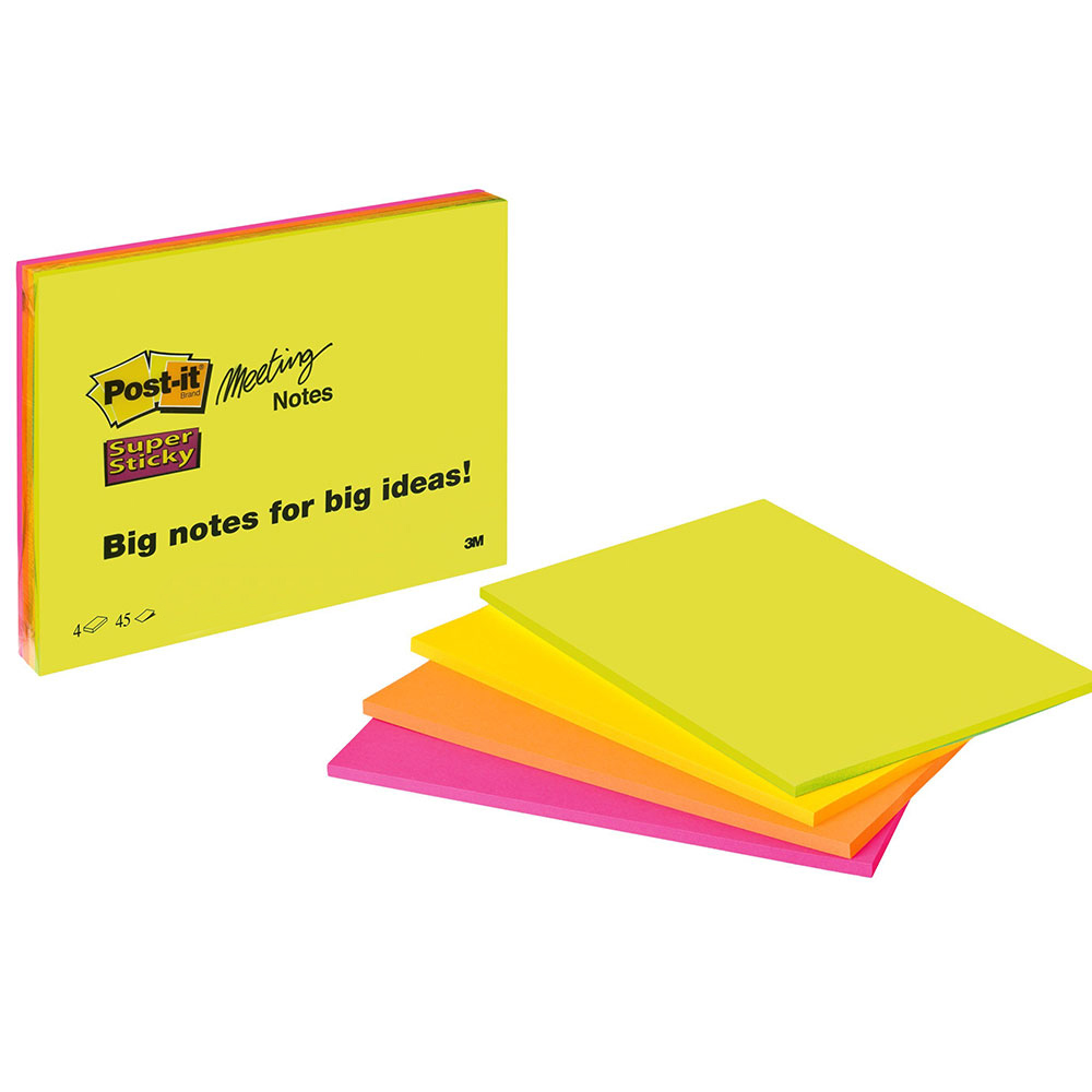Blok Post-it Super Sticky