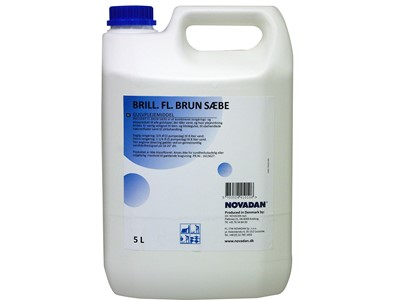 Brun sæbe Brilliant 5L